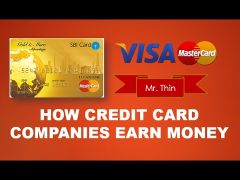 With visa and mastercard, it is easy to identify the issuing bank of each card—the bank's name is always on the card. How Credit Card Companies Earn Money Credit Card Business Model Youtube