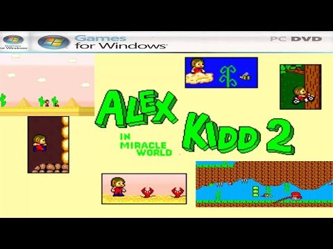 Alex Kidd In Miracle World 2 PC Edition