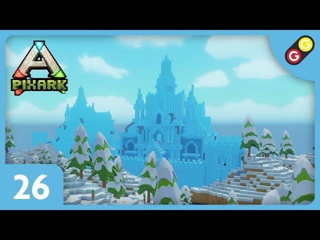 PixARK - Let's Play #26 On explore un donjon de glace ! [FR]