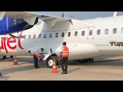 Mysore Airport - Trujet trip To Chennai