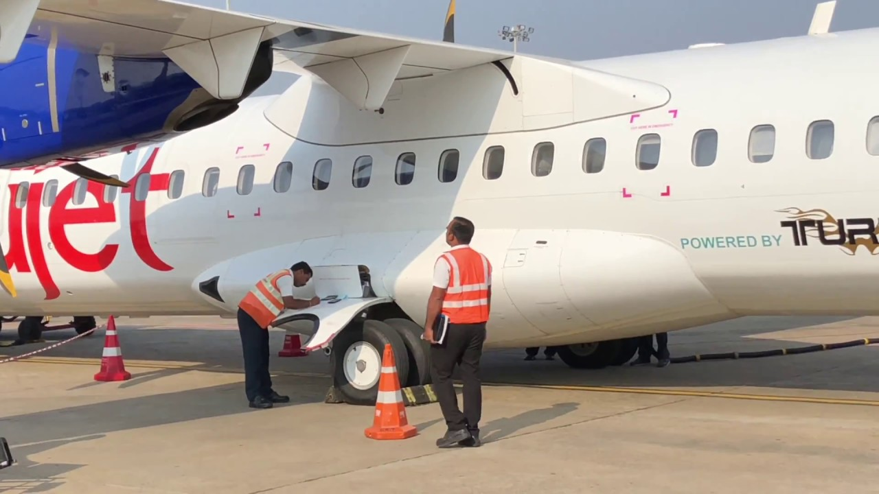 Mysore Airport Trujet Trip To Chennai Youtube