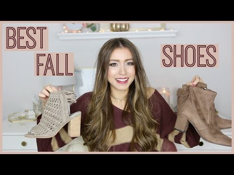 BEST FALL SHOES 2018 | FALL BOOT GUIDE (AFFORDABLE + DESIGNER)