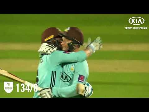 Highlights: Surrey v Gloucestershire - Natwest T20 Blast