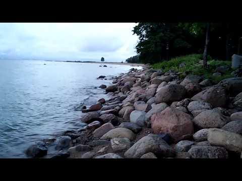 Парк Александрия  и Финский залив в Петергофе