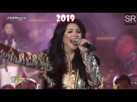Regine Velasquez's 2000 & 2019 LET'S GET LOUD High notes!