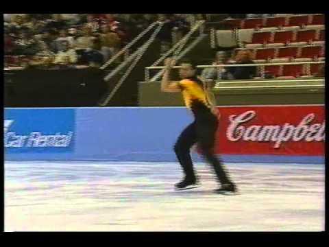 Michael Weiss (USA) - 1995 Skate America, Men