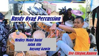 Rusdy Oyag Percussion ll Medley Mobil butut-Talak Tilu-Hayang Kawin