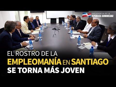 El rostro de la empleomanía en Santiago se torna más joven