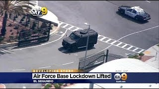 LA Air Force Base Lockdown Lifted After Reports Of Suspicious Person