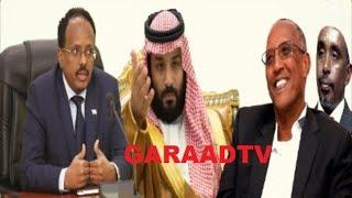 Warar Deg Deg Ah Heshiiska Somaliland & Sacuudiga, Digniinta DFS, Awooda Shariif Xasan