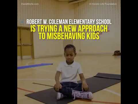 Meditation instead of detention at this school lead to zero suspensions