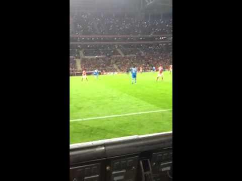 Galatasaray -Antalyaspor tribün şov