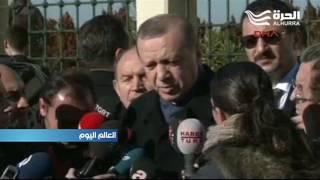 أردوغان يتهم اليونان بتعطيل إعادة توحيد قبرص ويقول إن انسحاب القوات التركية الكامل منها غير وارد