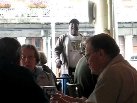 Jazz at Cafe du Monde in the French Quarter