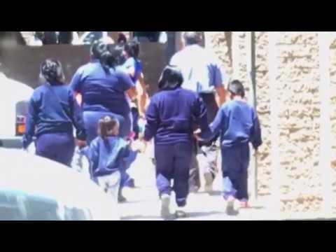 Immigrant children held in vacant office building