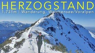 Herzogstand Bergtour, Walchensee 4K
