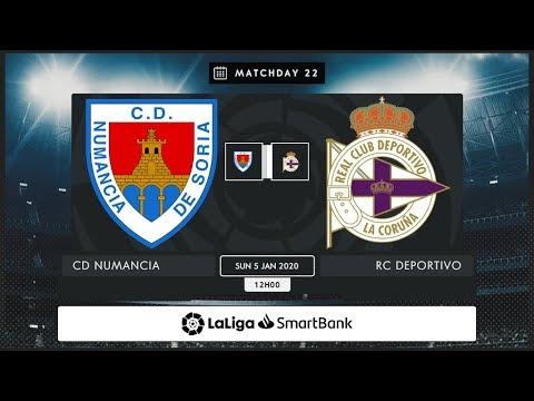 CD Numancia - RC Deportivo MD22 D1200
