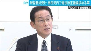 感染の「緊急事態」も想定し自民党内で憲法改正論(20/01/31)