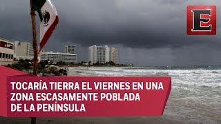Alerta en Baja California Sur por tormenta Sergio