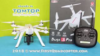 MJX Bugs 3 Pro hands-on review: Unboxing, Initial setup & Maiden Flight