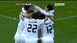 Real Madrid Vs Villarreal [ 4-2 ] 9.1.2011 JSC Sport