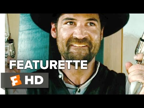 The Magnificent Seven Featurette - The Outlaw (2016) - Manuel Garcia-Rulfo Movie