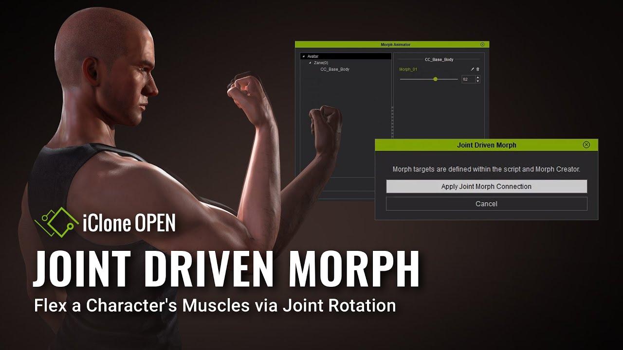 IC Python API:Joint Driven Morph - Reallusion Wiki!