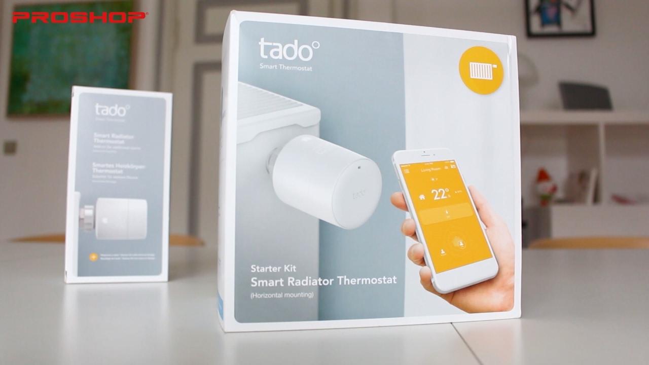 tado smart radiator thermostat test youtube. Black Bedroom Furniture Sets. Home Design Ideas