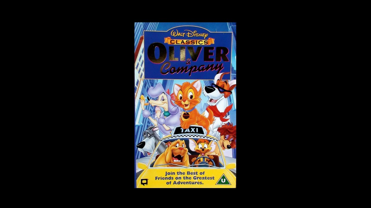 Opening to Oliver & Company UK VHS [1997] - YouTube