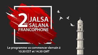 LIVE - Jalsa Salana Canada Francophone 2019