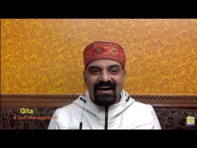 Gita And Self Management With Dr Nitin Saraswat | Wide Angle With Ashok Vyas