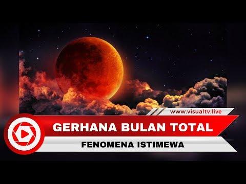 Fakta-fakta Gerhana Bulan Total 31 Januari 2018 yang Istimewa