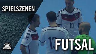Deutschland - England (Futsal-Länderspiel, Test-Hinspiel) - Spielbericht | ELBKICK.TV