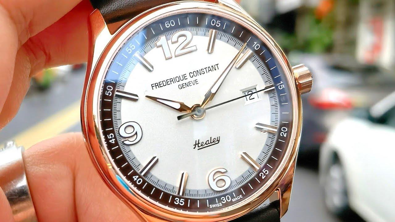 [Đẹp] Frederique Constant Vintage Healey 40mm Limited Edition FC-303HVBR5B4   ICS Authentic