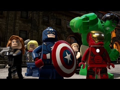 LEGO® MARVEL's Avengers Complete Walkthrough Part 6 - Avengers Assemble