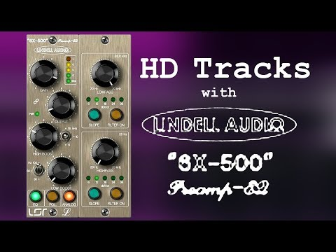 Create HD Audio Tracks with Lindell 6X-500 Class-A Preamp