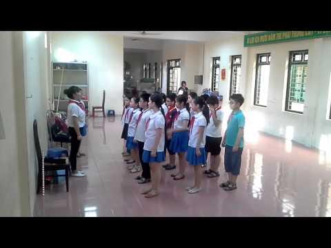 Tập nghi thức đội - TH Nguyễn Trãi