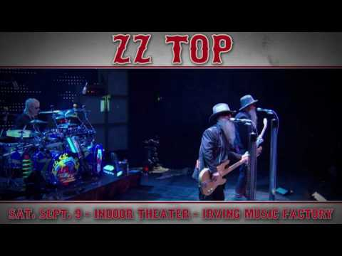 ZZ Top's The Tonnage Tour Heads to The Pavilion at Irving Music Factory on Saturday, Sept. 9!