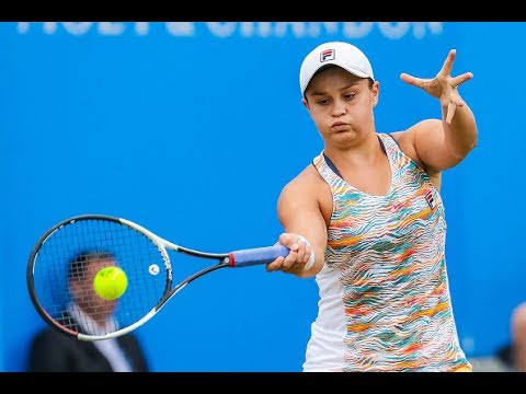 2017 Aegon Classic Semifinals | Ashleigh Barty vs Garbine Muguruza | WTA Highlights