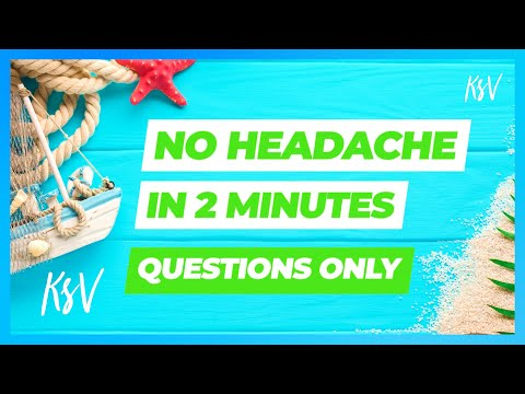 How To Cure A Headache Fast Naturally