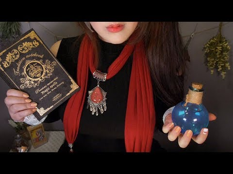 💎Fantasy Magic Shop Role Play ASMR 🔮(English)