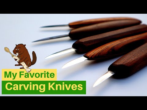 Woodcarving: My favorite knives