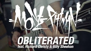 """Monte Pittman """"Obliterated"""" (feat. Richard Christy & Billy Sheehan)"""