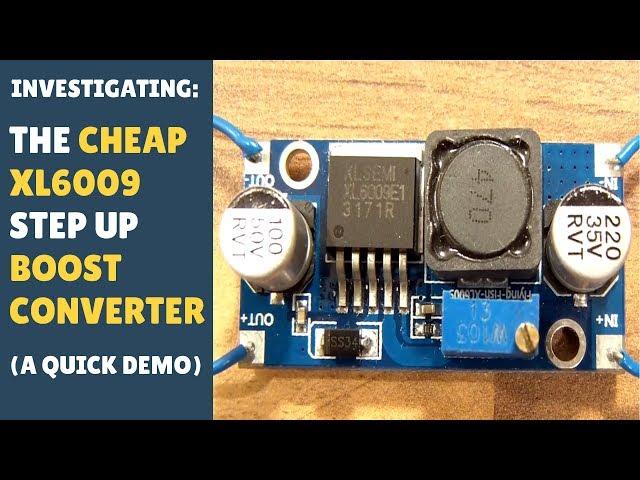 DC-DC Boost Buck step up down Converter XL6009 Solar Voltage hot BBC