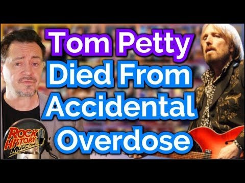 Tom Petty died of an accidental drug overdose, medical examiner finds