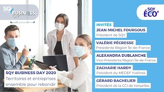SQY Business Day 2020 : Territoires et entreprises ensemble pour rebondir