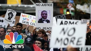 Thousands In New Zealand Protest Death Of George Floyd | NBC News