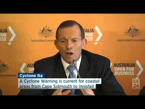 What Tony Abbott acutally said about MH370, the black box & search area