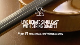 Watch Our Final Debate Live Stream Featuring A String Quartet