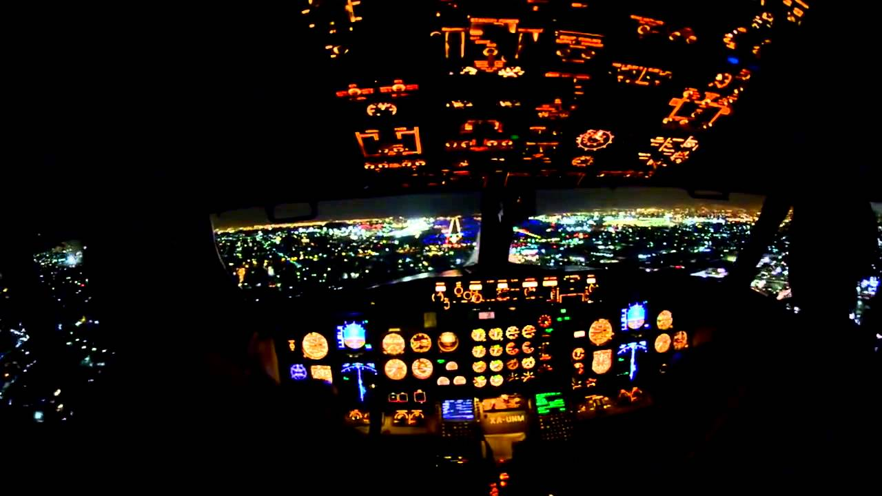 Gece ini yapan yolcu u a kokpiti hd youtube - 4k cockpit wallpaper ...
